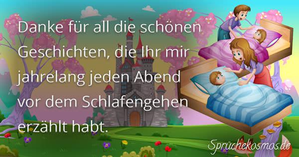 Dankessprüche an Eltern | Sprüchekosmos.de