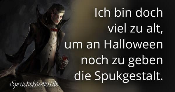 Lustige Halloween Sprüche