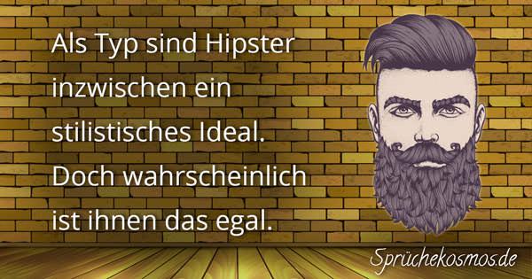Hipster Sprüche